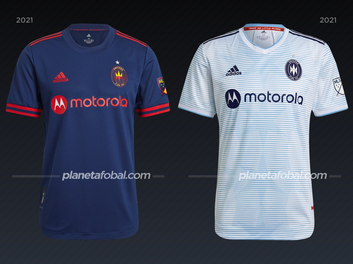 Chicago Fire | Camisetas de la MLS 2021