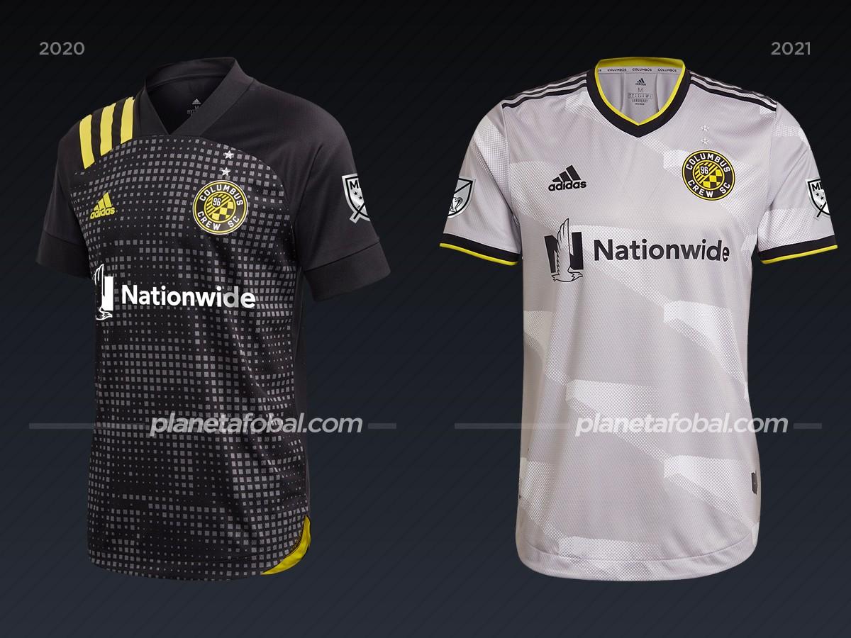 Columbus Crew | Camisetas de la MLS 2021