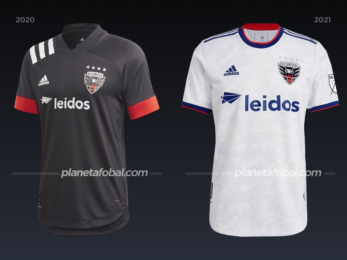 D. C. United | Camisetas de la MLS 2021
