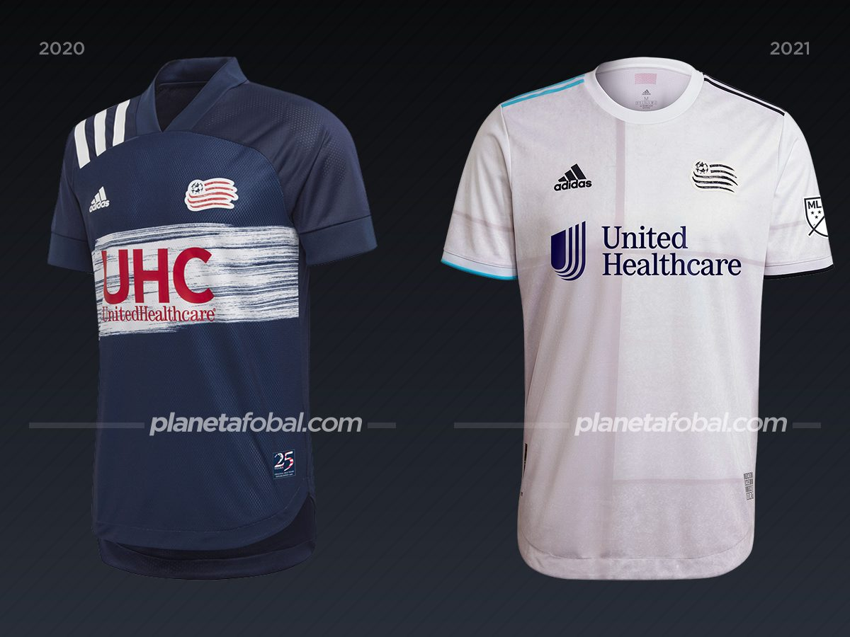 New England Revolution | Camisetas de la MLS 2021