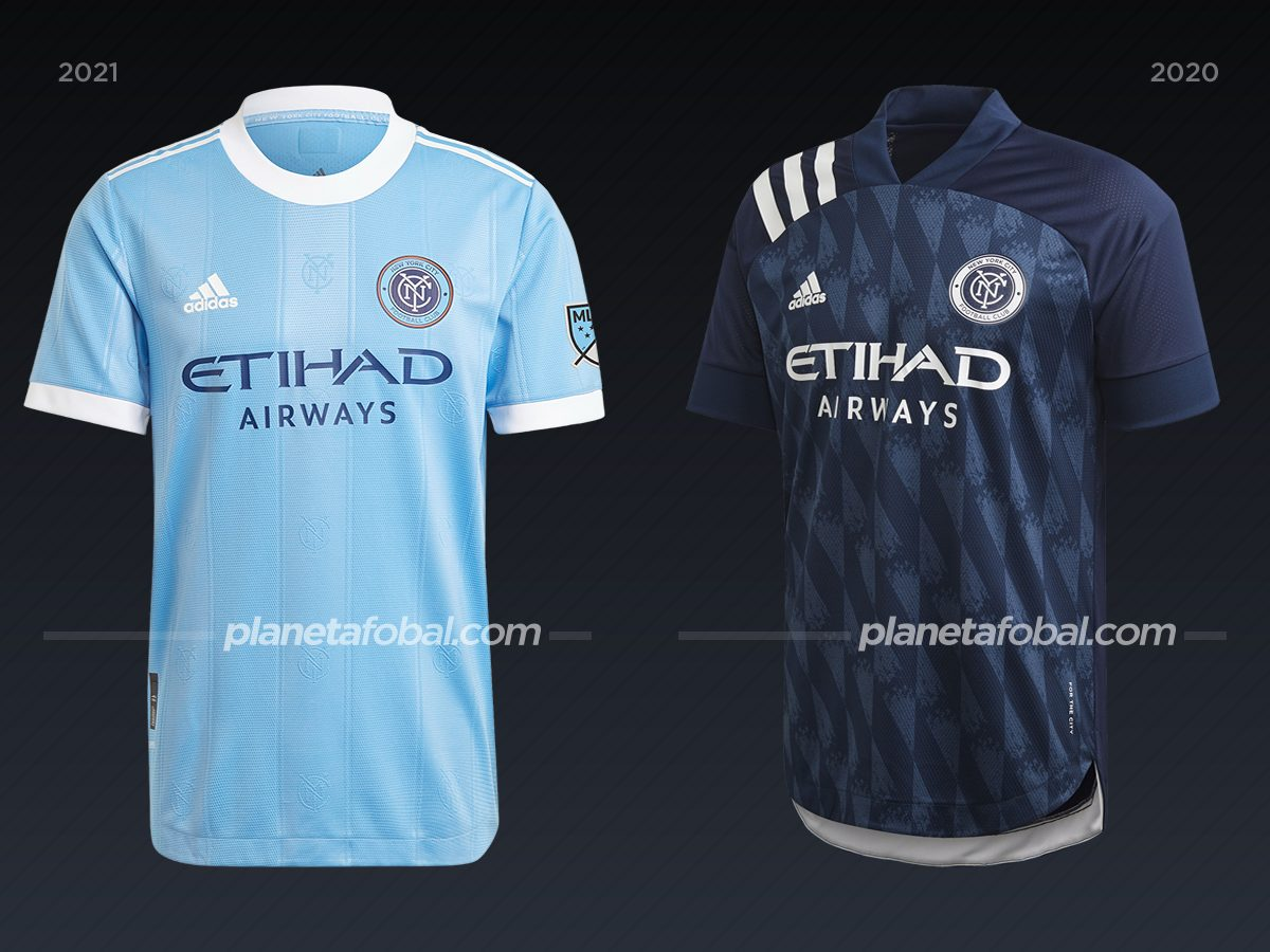 New York City | Camisetas de la MLS 2021
