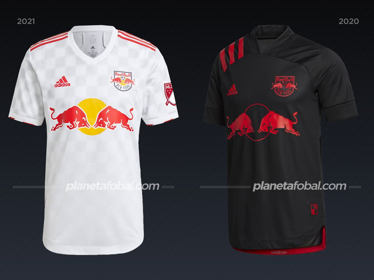 New York Red Bulls | Camisetas de la MLS 2021