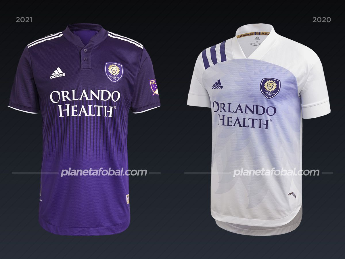 Orlando City | Camisetas de la MLS 2021