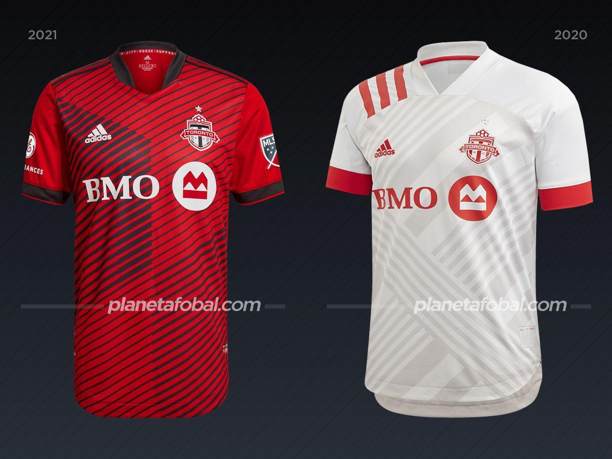Toronto FC | Camisetas de la MLS 2021