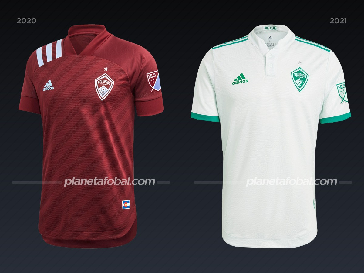 Colorado Rapids | Camisetas de la MLS 2021