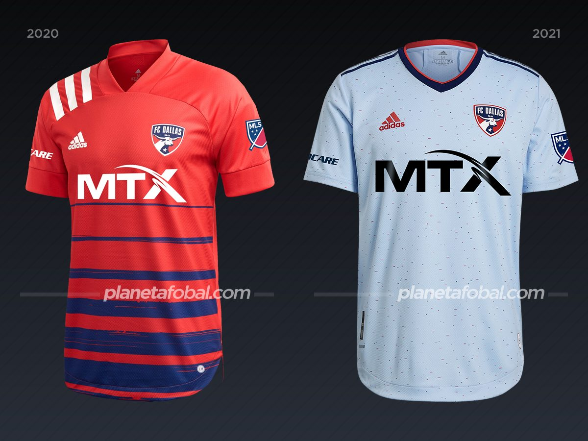 FC Dallas | Camisetas de la MLS 2021