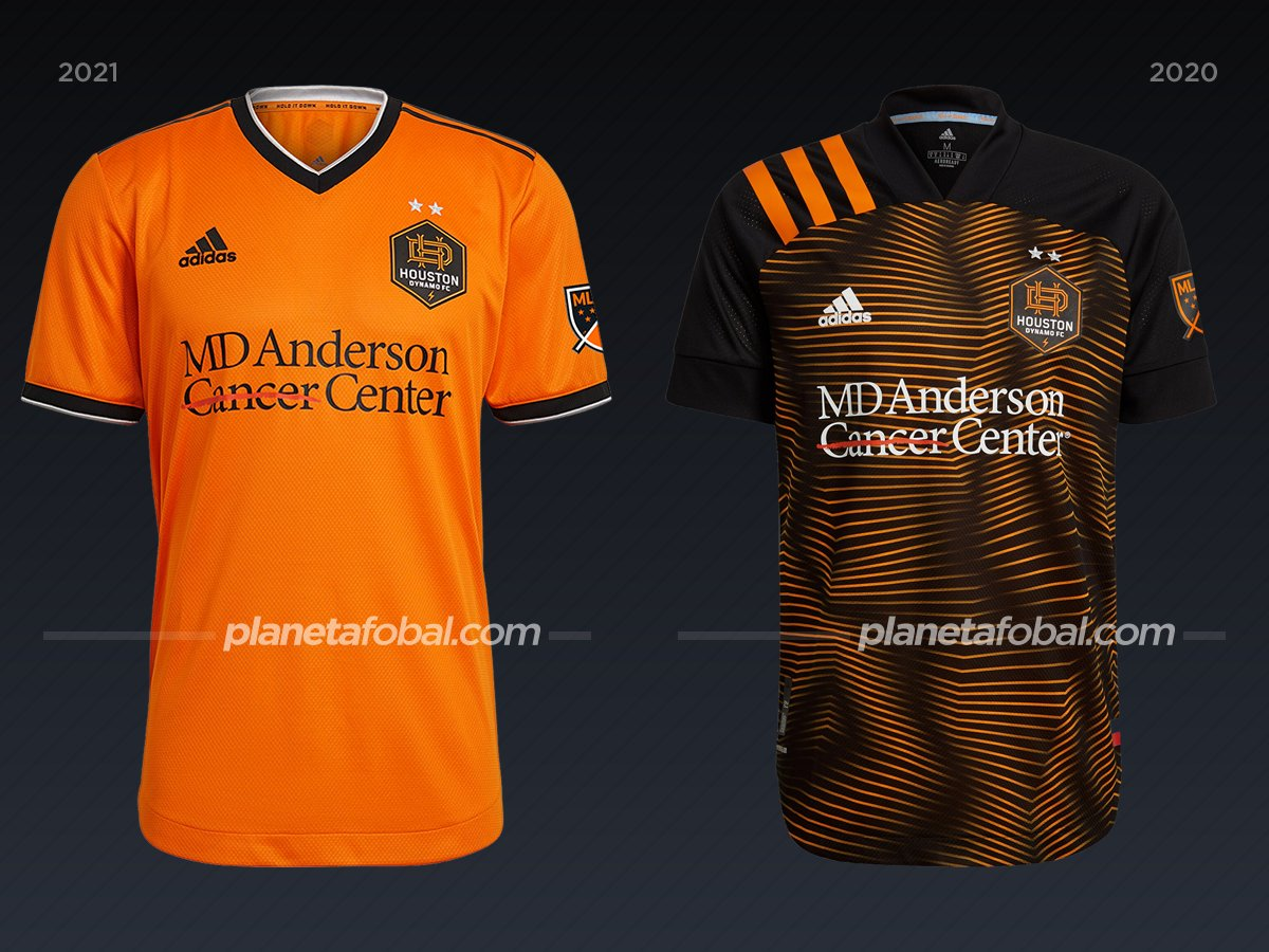 Houston Dynamo | Camisetas de la MLS 2021