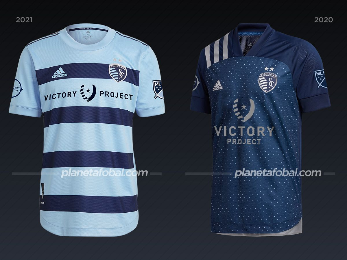 Sporting Kansas City | Camisetas de la MLS 2021