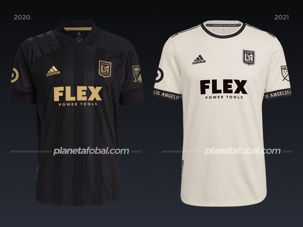 Los Angeles FC | Camisetas de la MLS 2021