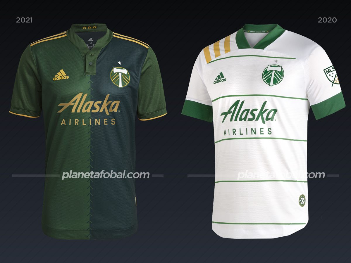 Portland Timbers | Camisetas de la MLS 2021