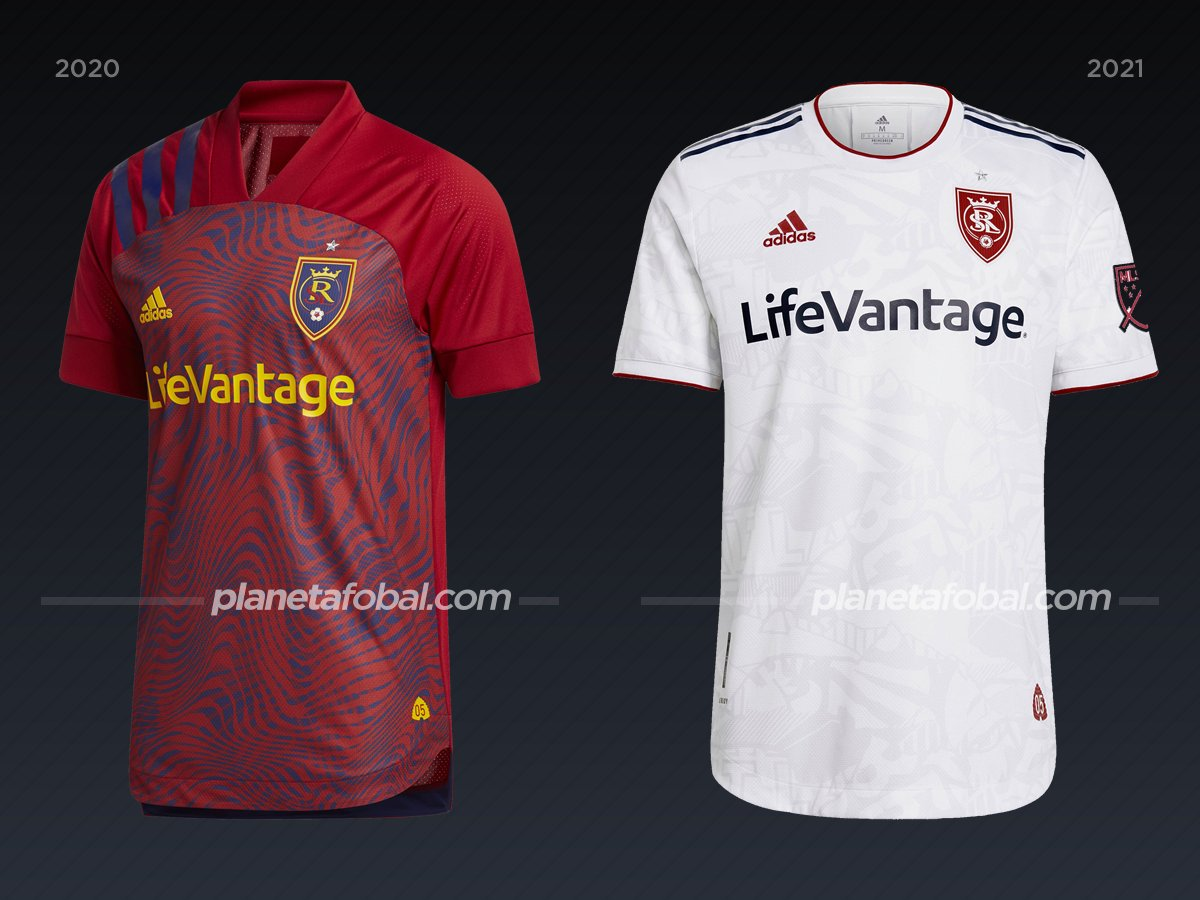 Real Salt Lake | Camisetas de la MLS 2021