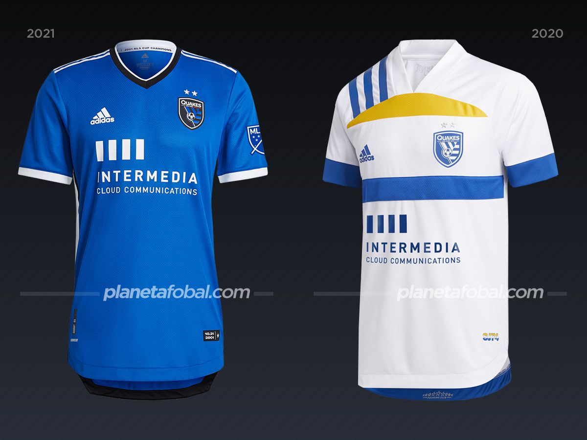 San José Earthquakes | Camisetas de la MLS 2021