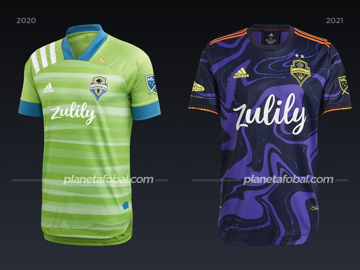 Seattle Sounders | Camisetas de la MLS 2021