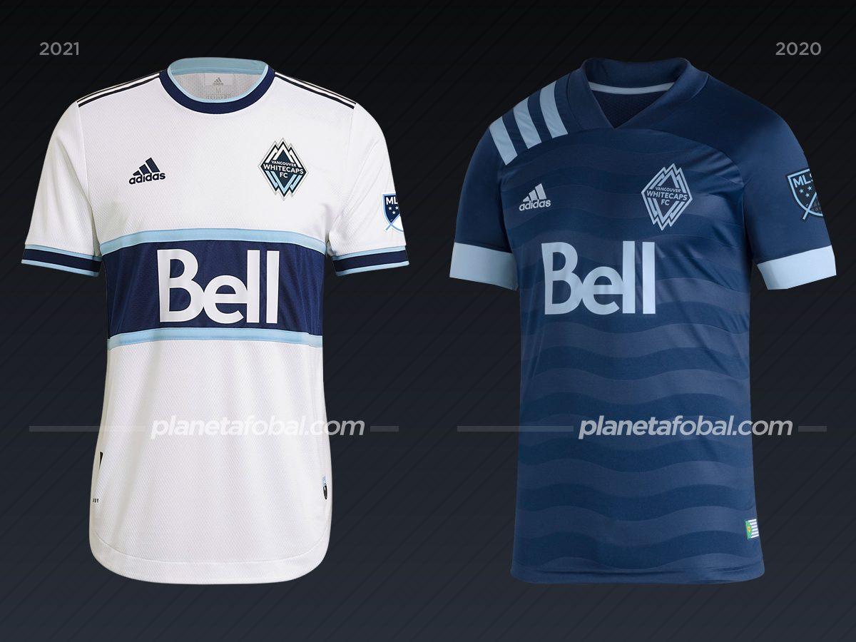 Vancouver Whitecaps | Camisetas de la MLS 2021