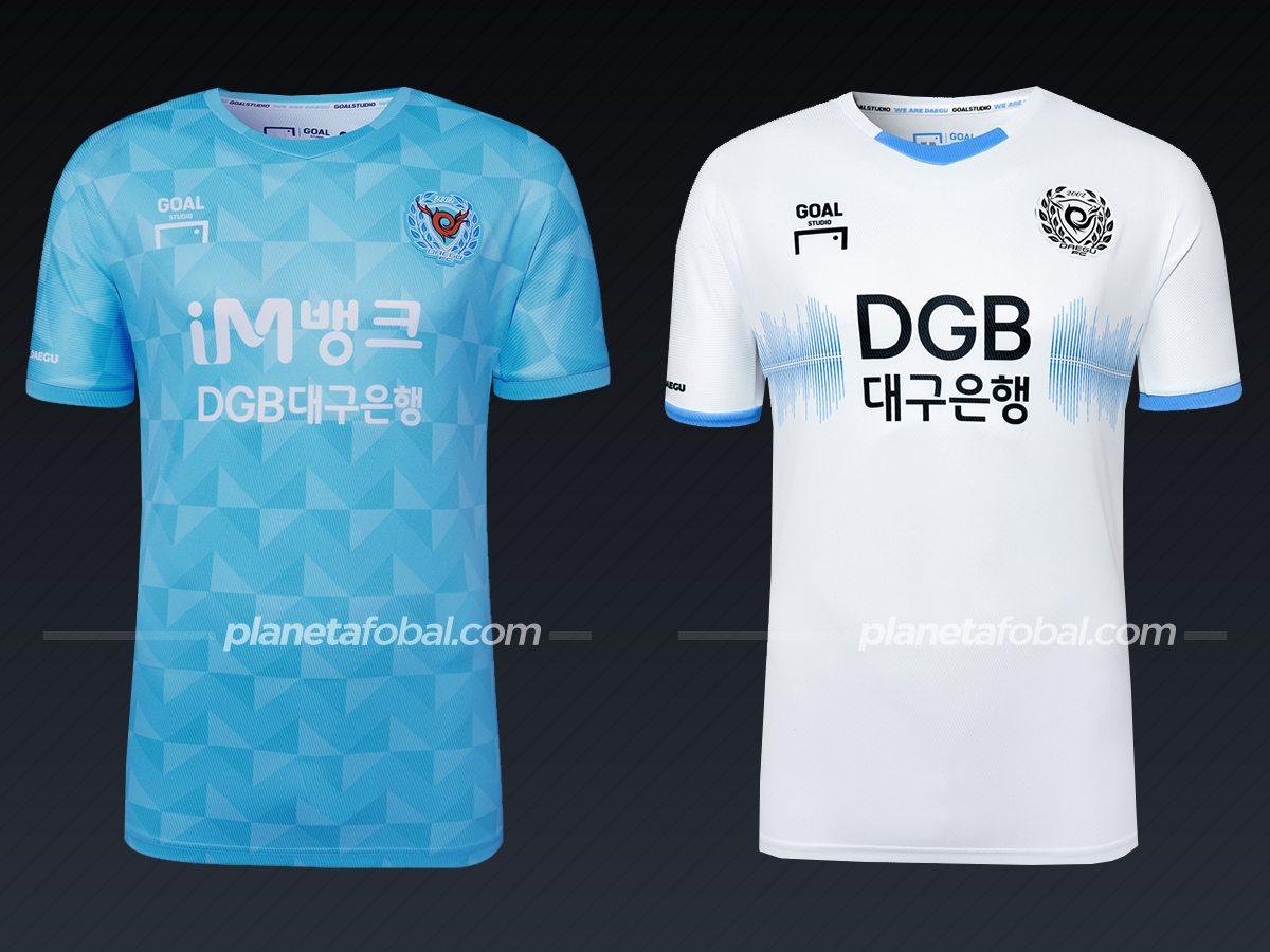 Daegu FC (Goal Studio) | Camisetas liga coreana 2021