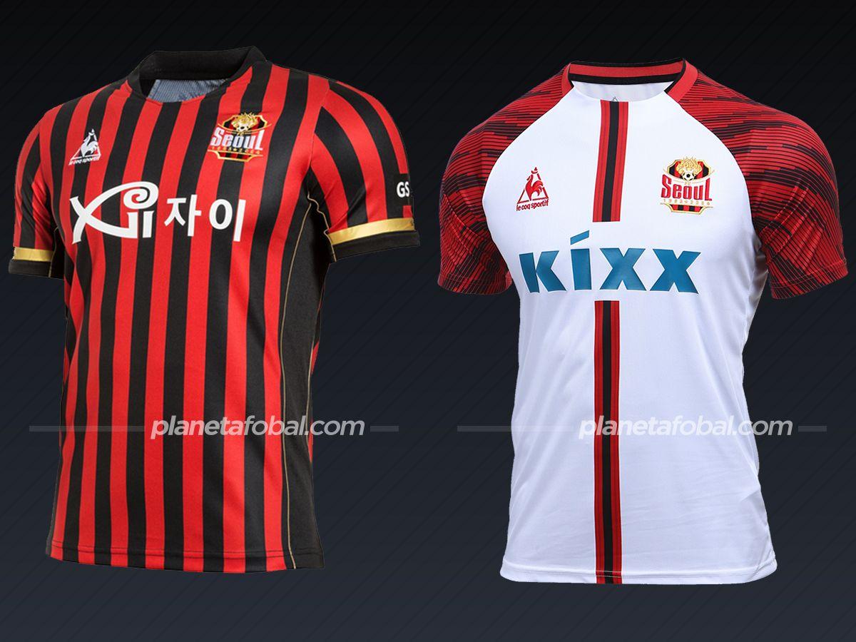 FC Seoul (Le Coq Sportif) | Camisetas liga coreana 2021