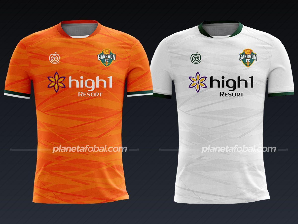 Gangwon FC (Applerind) | Camisetas liga coreana 2021