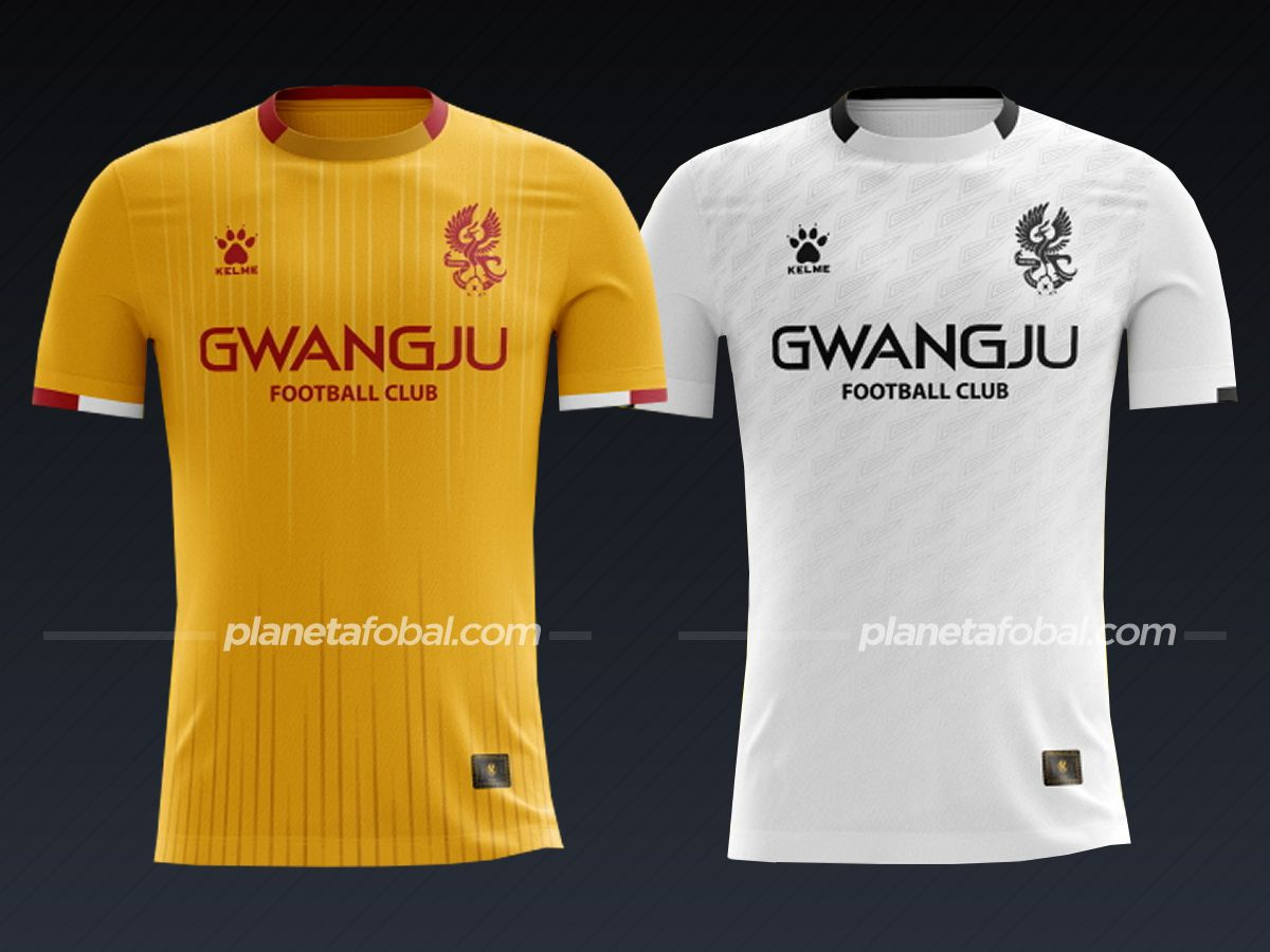 Gwanju FC (Kelme) | Camisetas liga coreana 2021