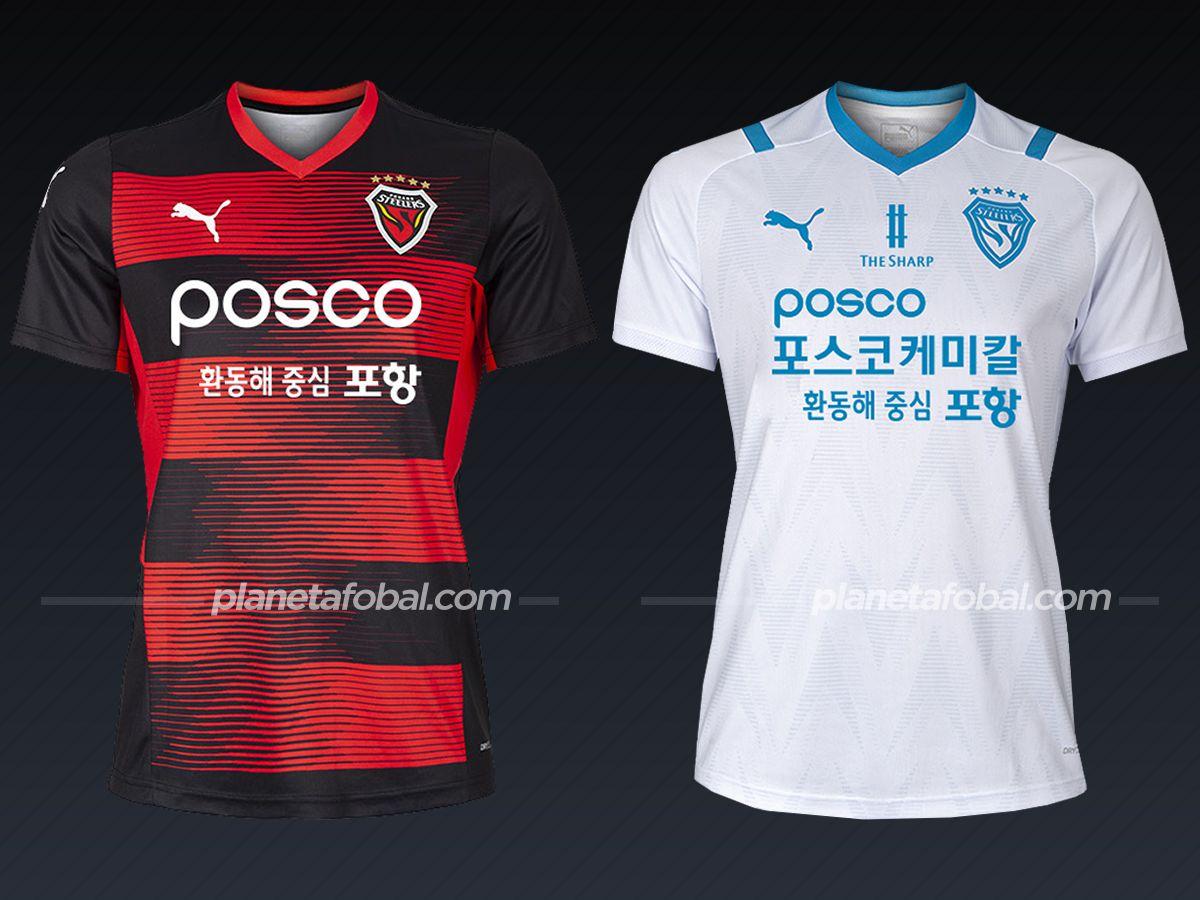 Pohang Steelers (PUMA) | Camisetas liga coreana 2021