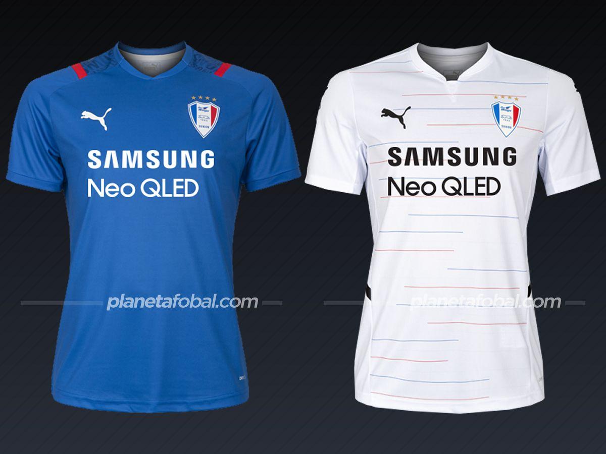 Suwon Bluewings (PUMA) | Camisetas liga coreana 2021