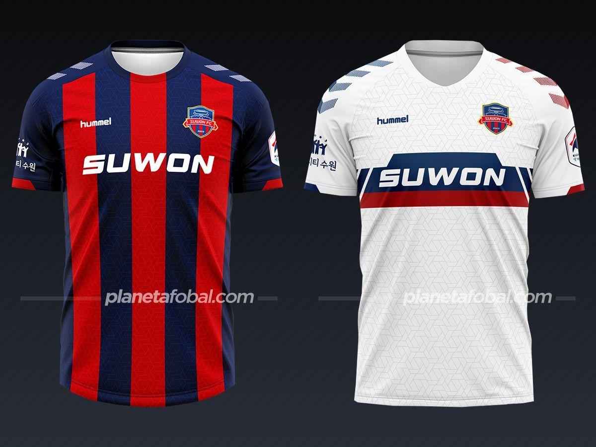 Suwon FC (Hummel) | Camisetas liga coreana 2021