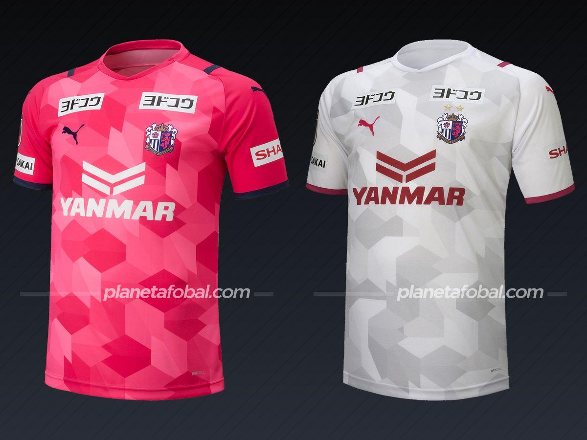 Cerezo Osaka (PUMA) | Camisetas de la liga japonesa 2021