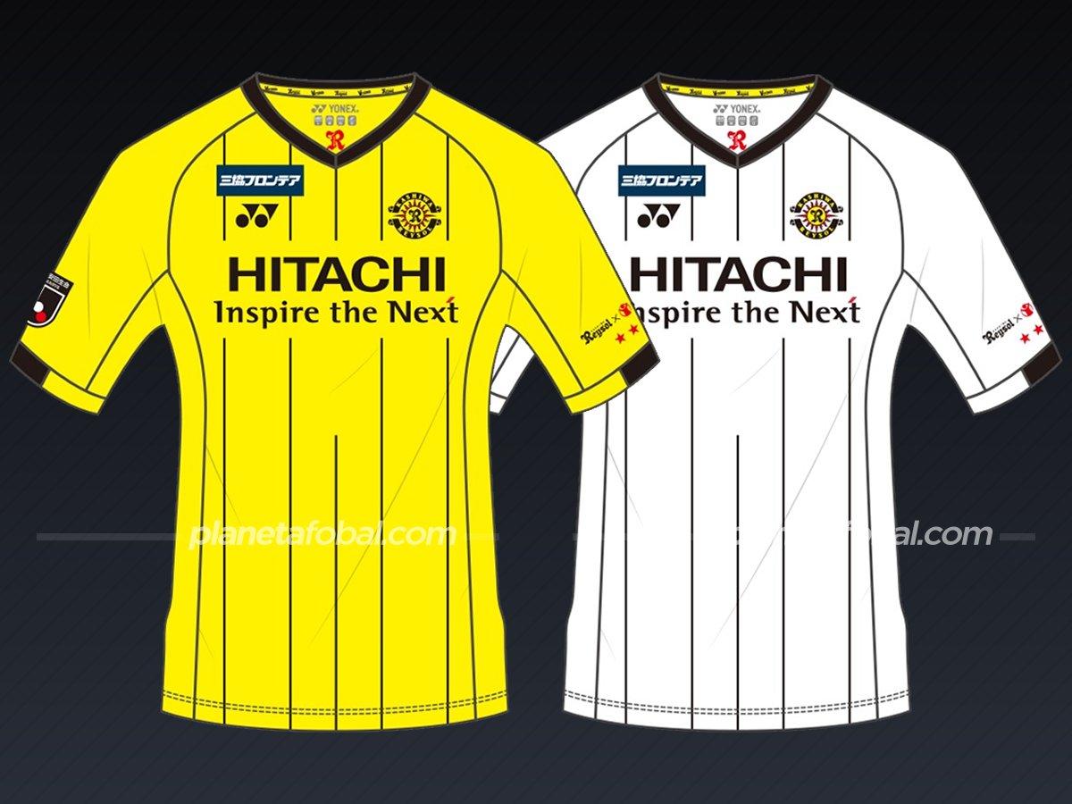 Kashiwa Reysol (Yonex) | Camisetas de la liga japonesa 2021