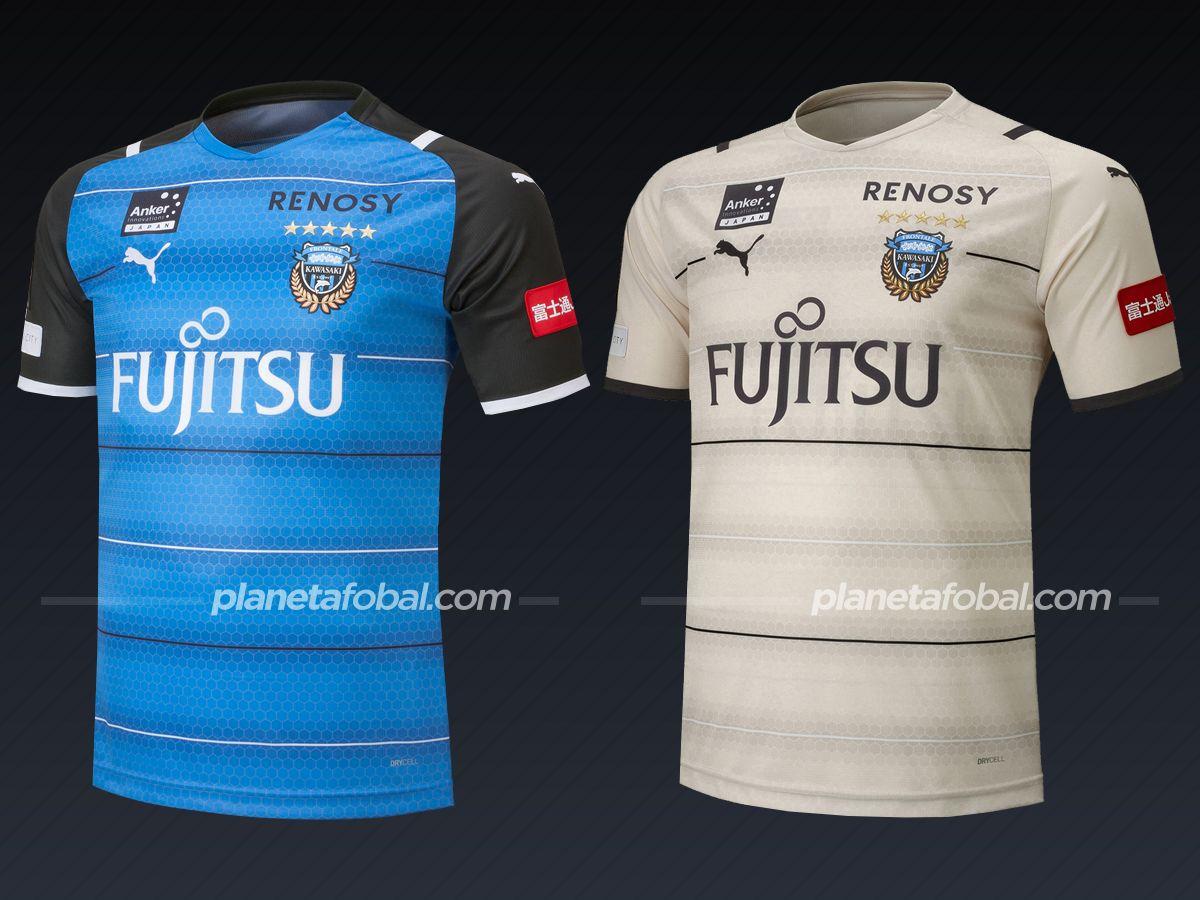 Kawasaki Frontale (PUMA) | Camisetas de la liga japonesa 2021