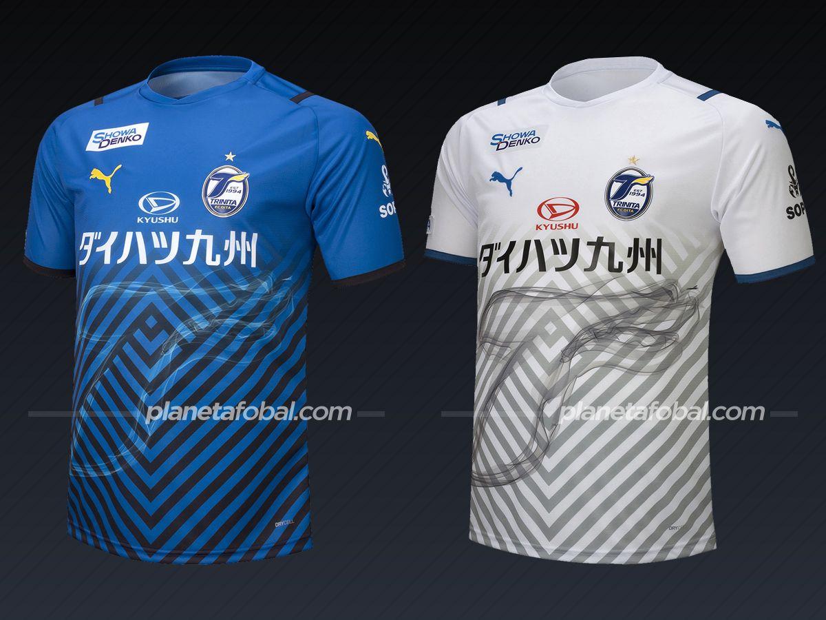 Oita Trinita (PUMA) | Camisetas de la liga japonesa 2021