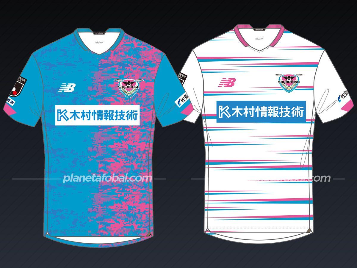 Sagan Tosu (New Balance) | Camisetas de la liga japonesa 2021