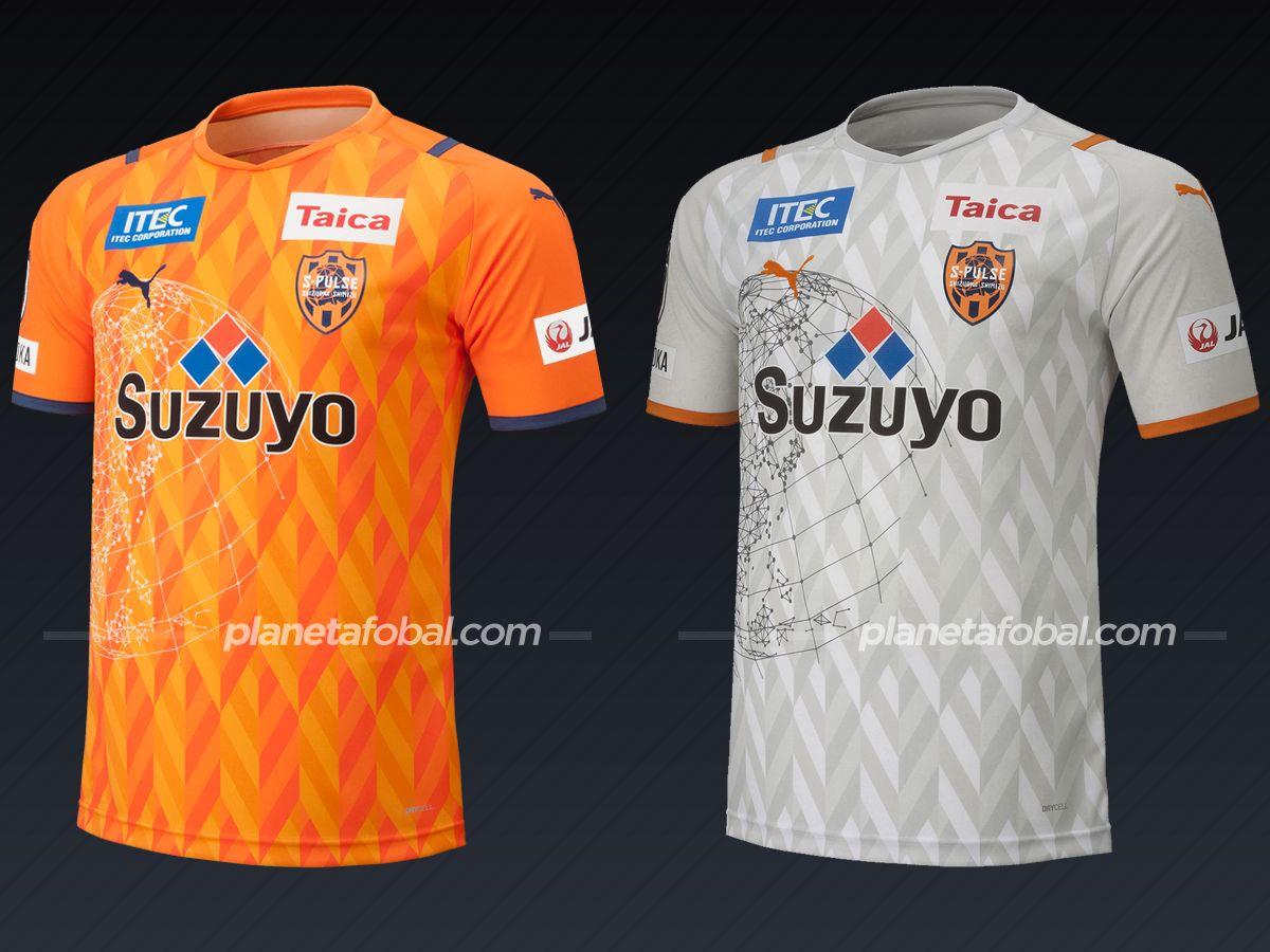 Shimizu S-Pulse (PUMA) | Camisetas de la liga japonesa 2021