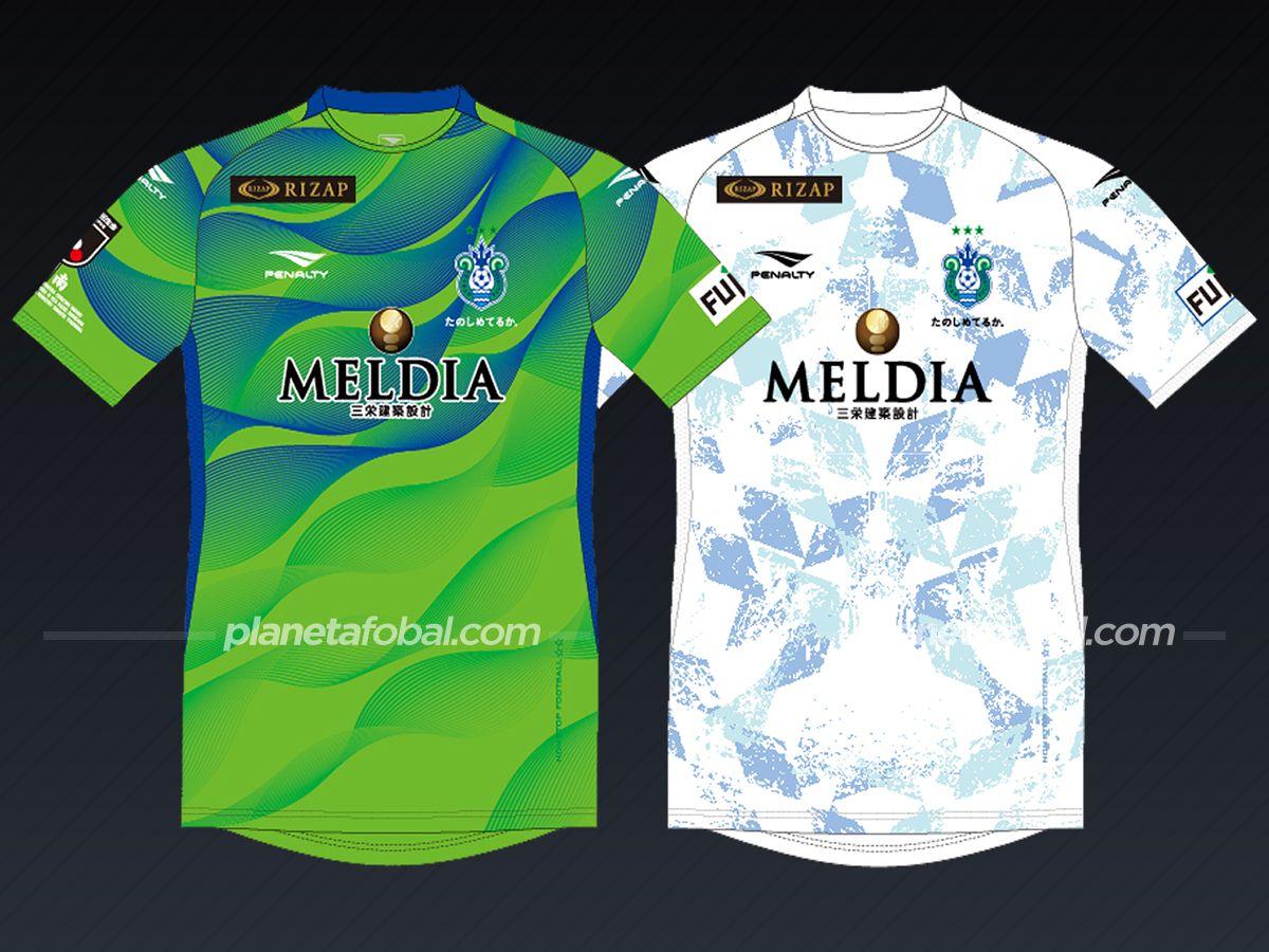 Shonan Bellmare (Penalty) | Camisetas de la liga japonesa 2021