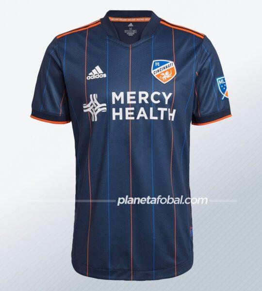 Camiseta adidas del FC Cincinnati 2021/22