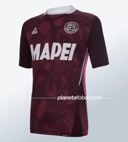 Camiseta titular Peak Sport de Lanús 2021 | Imagen Web Oficial