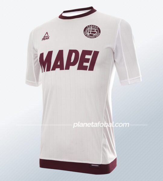Camiseta suplente Peak Sport de Lanús 2021 | Imagen Web Oficial