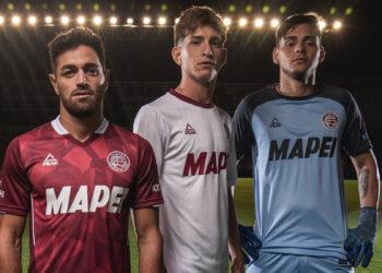 Camisetas Peak Sport de Lanús 2021 | Imagen Twitter Oficial