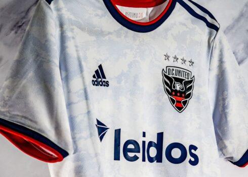 Camiseta suplente adidas del DC United 2021/22