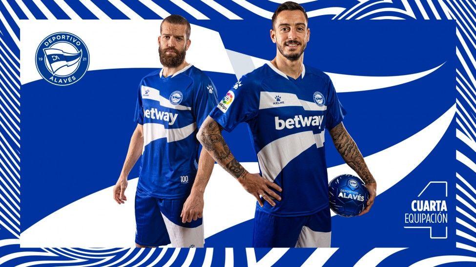 Cuarta equipación Kelme del Deportivo Alavés 2021 | Imagen Web Oficial