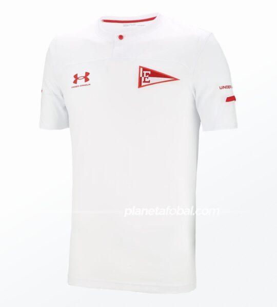 Camiseta suplente Under Armour de Estudiantes LP 2021 | Imagen Web Oficial