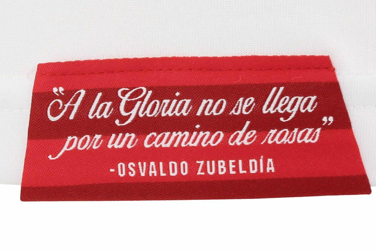 La frase de Osvaldo Zubeldía en las camisetas de Estudiantes LP 2021 | Imagen Web Oficial