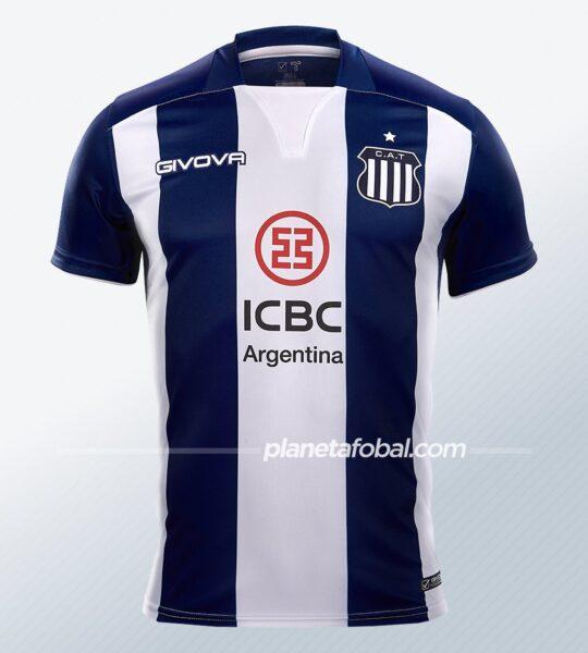 Camiseta local Givova de Talleres 2021 | Imagen Web Oficial