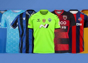 Camisetas liga coreana 2021