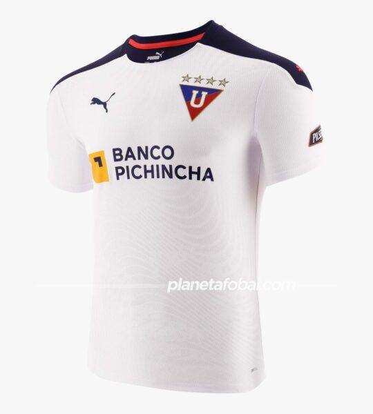 Camiseta titular Puma de la Liga de Quito 2021 | Imagen Marathon Sports