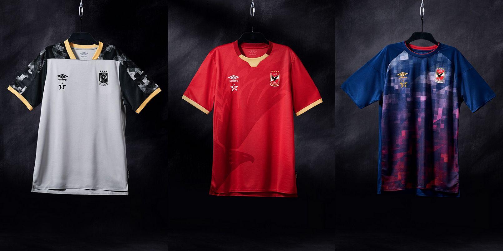 Al Ahly SC (Umbro) | Camisetas del Mundial de Clubes 2020