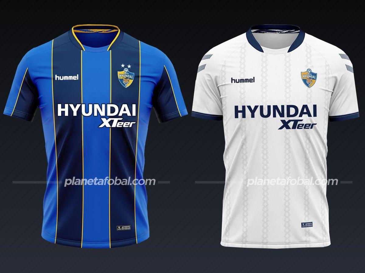Ulsan Hyudani (Hummel) | Camisetas del Mundial de Clubes 2020