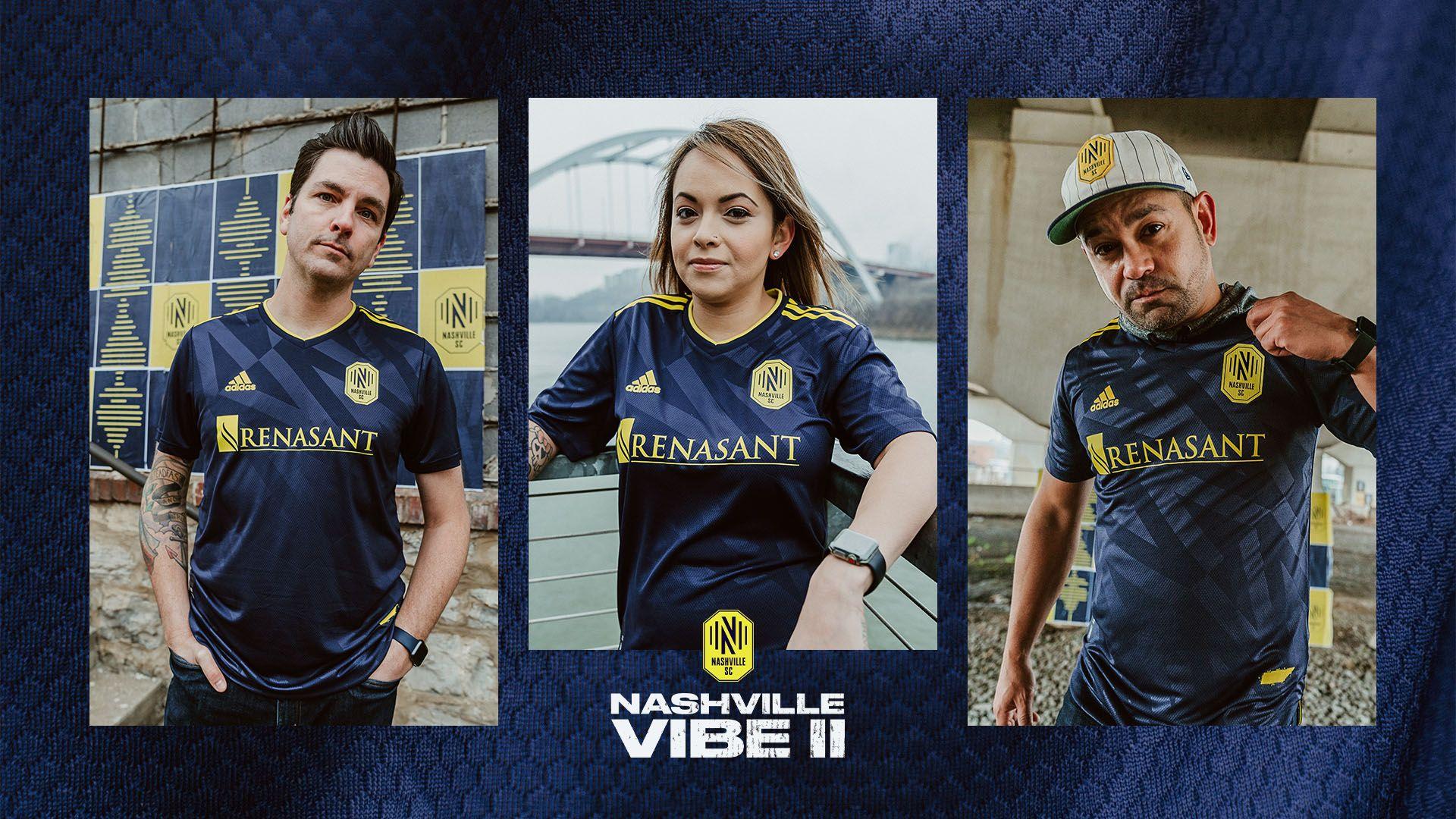 Camiseta suplente adidas del Nashville SC 2021/22