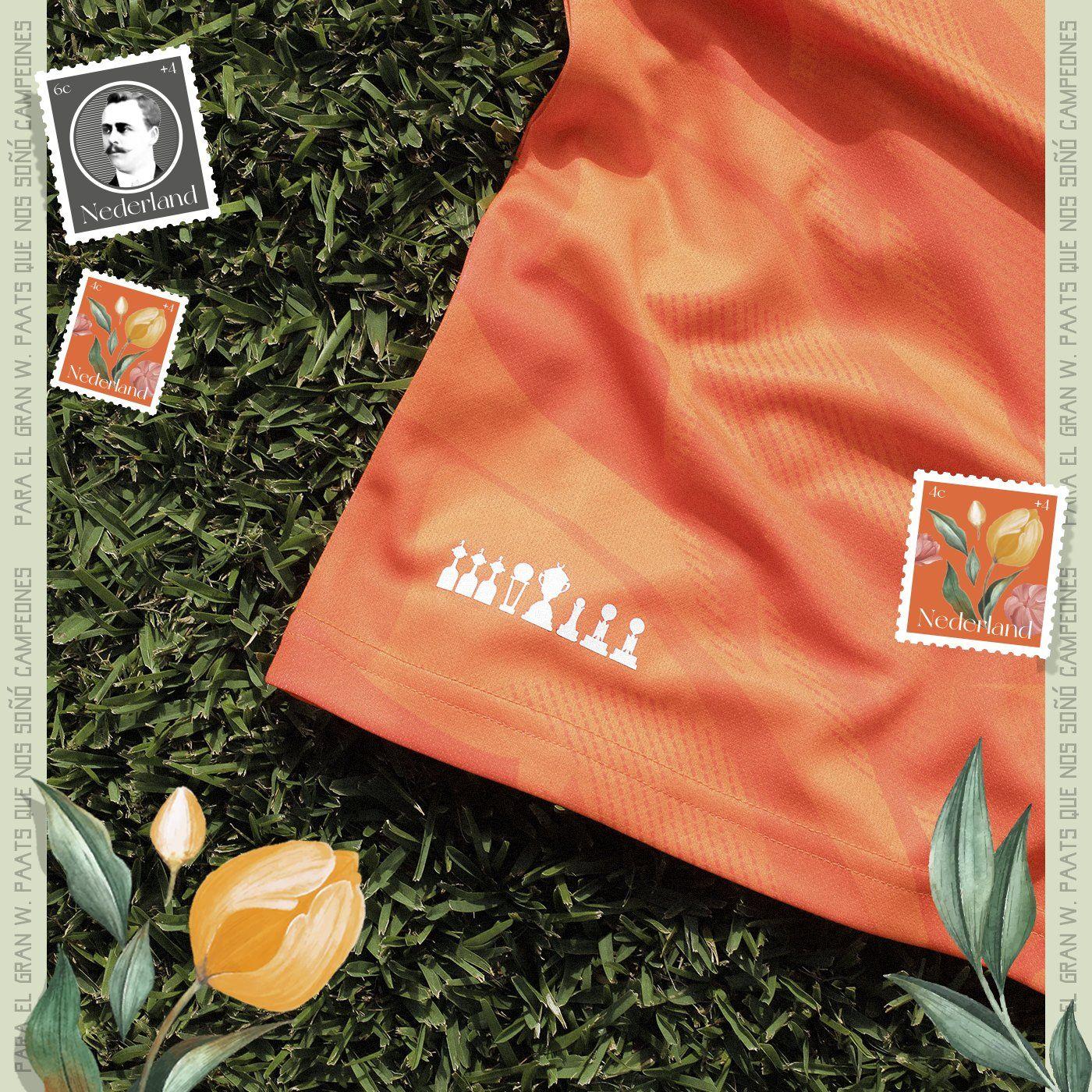 Camiseta naranja Meta Sports del Club Olimpia 2021