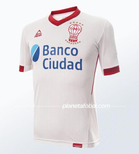 Camiseta titular 2021 de Huracán | Imagen Peak Sport