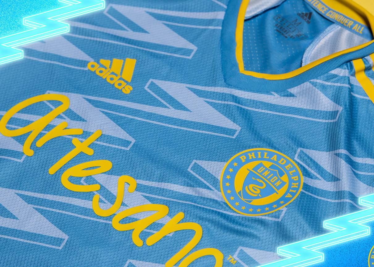 Camiseta suplente adidas del Philadelphia Union 2021/22