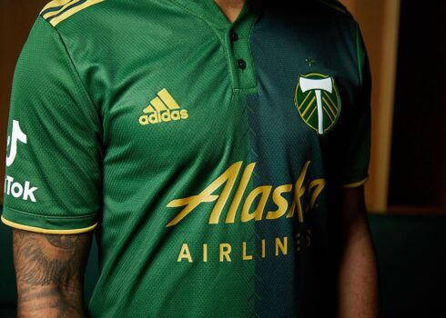 Camiseta adidas del Portland Timbers 2021/22